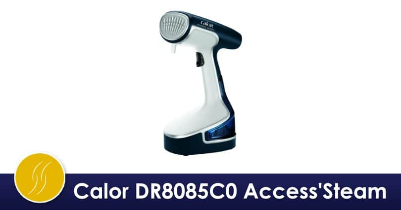 Calor Access'Steam, défroisseur vintage bleu et blanc