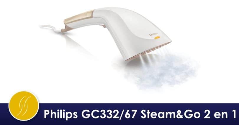 Mon avis sur le Défroisseur Doré Philips Steam&Go2 en 1