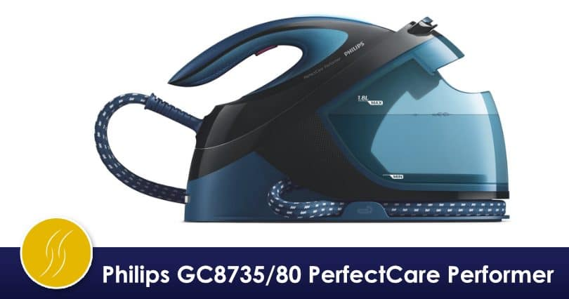 Philips GC8735/80 PerfectCare Performer – hyper simple à utiliser