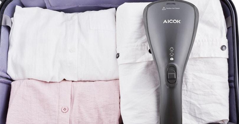 AicokHS-05 – Mini défroisseur de voyage