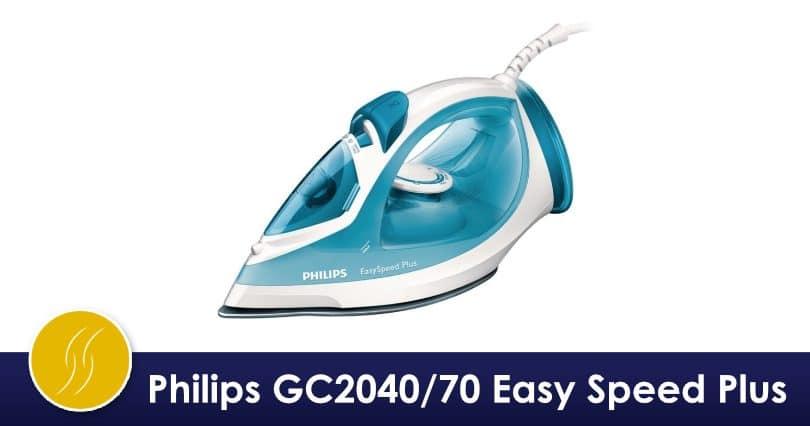 Quel Fer A Repasser Choisir #5: Mon Avis Sur Le Fer Philips GC2040/70 Easy Speed Plus