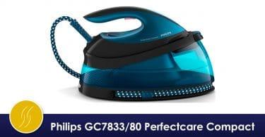avis philips gc7833/80 perfectcare compact centrale vapeur sans réglage