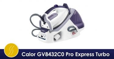 Calor GV8432C0 Pro Express Turbo Anti Calc Autoclean avis