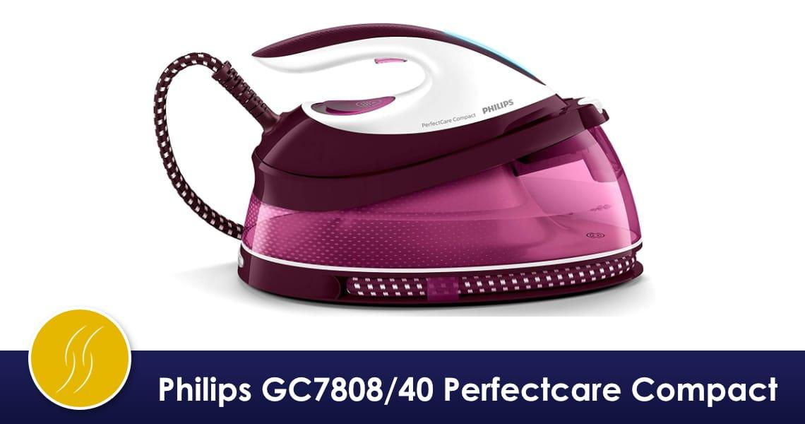 philips gc7808 40 perfectcare compact avis et critique. Black Bedroom Furniture Sets. Home Design Ideas
